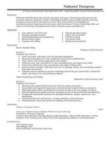 resume template college student internship cnc machinist resume getessay biz