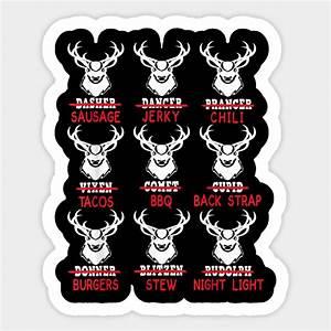 Funny, Christmas, Deer, Bow, Hunting, Santa, Men, Women, Hunter, Gift