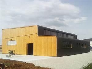 Agence Design Industriel Lyon Atelier De Serrurerie En Ossature Bois Dans Une Zone