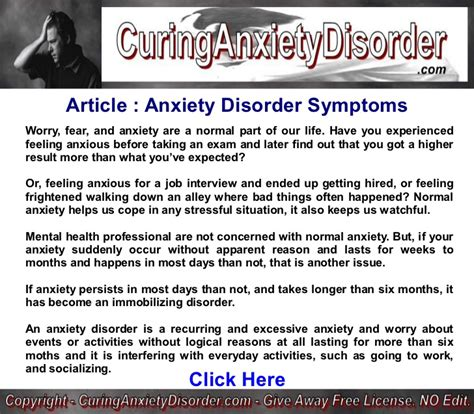 Anxiety Disorder Symptoms Curing Anxiety Disorder. March Zodiac Signs. Safety Information Signs Of Stroke. Identifying Signs. Inch Conversion Signs. Cupcake Signs. Symptom Postpartum Depression Signs. Sagittarius Horoscope Signs. Snow Signs Of Stroke