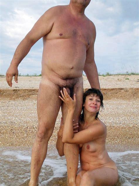 Busty girls on beach