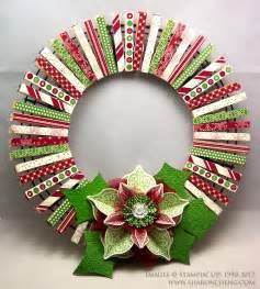 sharing creativity and company christmas clothespin wreath