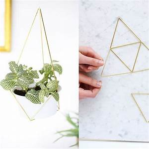 Suspension Pour Plante : diy fabriquer une suspension de plante en laiton ~ Premium-room.com Idées de Décoration