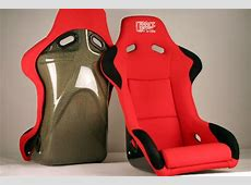 Chargespeed Bucket Racing Seat Sport Type Kevlar Red Old