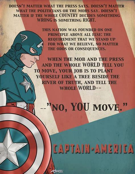 America Quotes 25 Best Captain America Quotes On Marvel