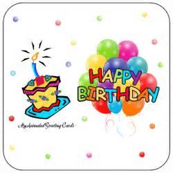 Animated Happy Birthday Balloons