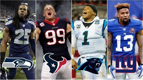 Best Football Player The Best Player From All 32 Nfl Teams