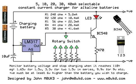 Alkaline Battery Charging Circuit Mukd Amateur Radio Blog