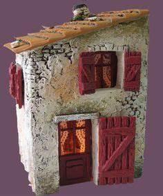 Maison De Noel Miniature : santons atelier de fanny santons et cr ches de no l santons de provence maison de village n 2 ~ Nature-et-papiers.com Idées de Décoration