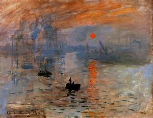 The Athenaeum - Impression, Sunrise (Claude Monet - )