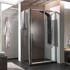 Cabine De Douche En Verre : cabine de douche 2 portes coulissantes pour receveur 120 x ~ Zukunftsfamilie.com Idées de Décoration
