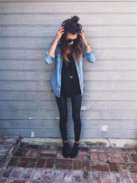 wear flannel shirts  trendy girls