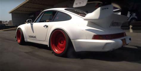 rauh welt porsche 911 rauh welt begriff porsche 911 turbo does a burnout clutch