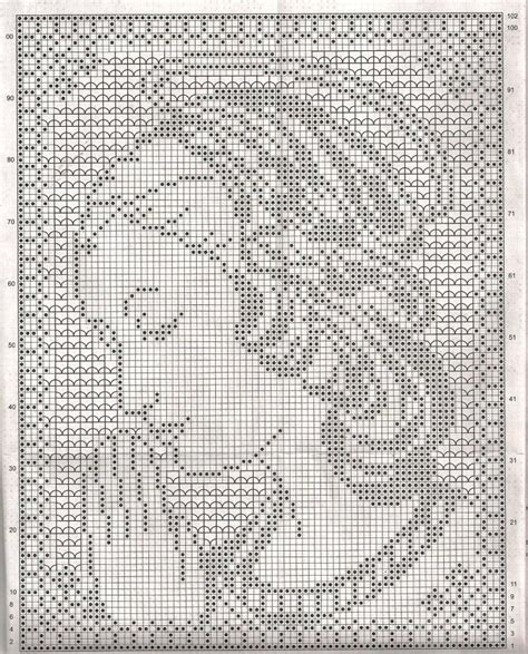 filet crochet motifs haekeln filethaekeln motive