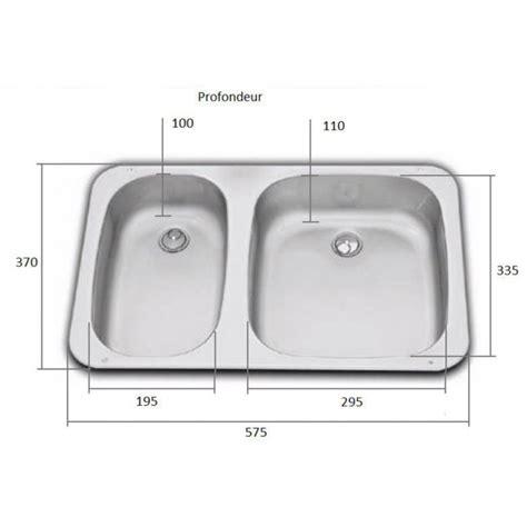 evier cuisine dimension accessoire bateau cing car évier cuisine avec 2