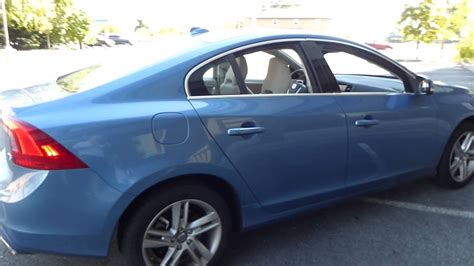 volvos power blue met    color   youtube