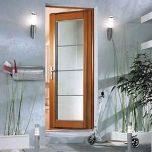 attrayant porte pleine bois massif 2 porte dentr233e With porte d entrée pvc avec meuble salle de bain suspendu bois massif