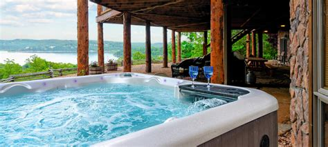 Branson Cabins With Tub by Lake Accommodations At Our Log Cabin B B Near Branson Mo