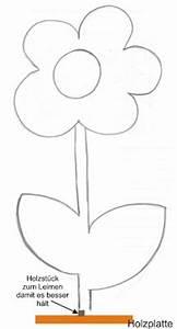Blumen Basteln Vorlage : holz blume basteln mit holz ~ Frokenaadalensverden.com Haus und Dekorationen