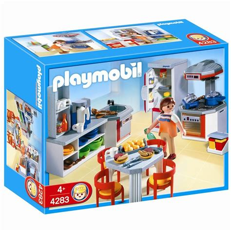 playmobil 4283 cuisine équipée achat vente univers