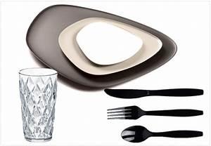 Vaisselle En Verre : la vaisselle en plastique c 39 est chic joli place ~ Teatrodelosmanantiales.com Idées de Décoration