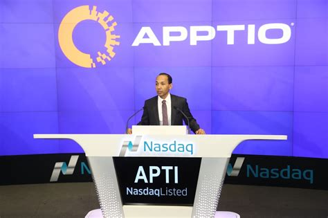 bid up xconomy investors bid up apptio shares in market debut