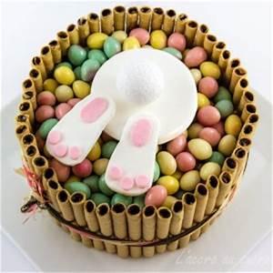 Dessert Paques Original : le lapin de p ques est tomb dans le g teau recettes de desserts plus de 1000 recettes sur ~ Dallasstarsshop.com Idées de Décoration