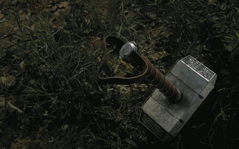 mjolnir the hammer of thor wallpaper 15675