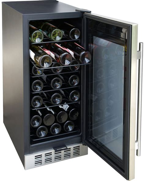 under cabinet wine fridge under counter wine cooler in wine coolers