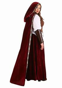2x Size Chart Deluxe Red Riding Hood Plus Size Costume