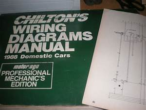 1988 Oldsmobile Toronado Wiring Diagrams Schematics Manual