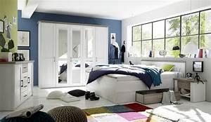 Schlafzimmer Kommode Günstig : kommode luca sideboard wohnzimmer schlafzimmer wei braun 4 schubladen 2 t ren ebay ~ Indierocktalk.com Haus und Dekorationen