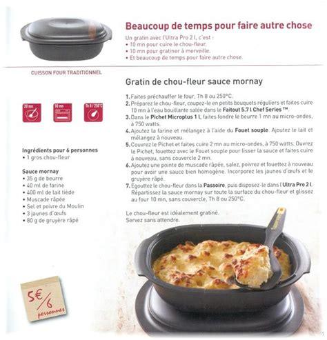 recette de cuisine tupperware gratin de chou fleur sauce mornay tupperware 78 et 28