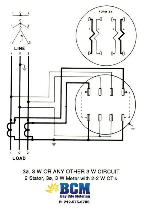 3 Phase Meter Socket Wiring Diagram by Delta Connected Cts Electric Power Transmission