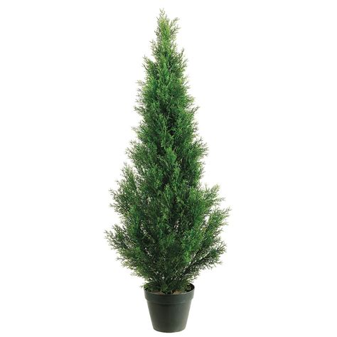 outdoor faux plants 4 outdoor artificial cedar tree potted 4ftced st