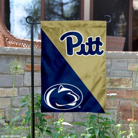 pitt  penn state house divided garden flag  pitt