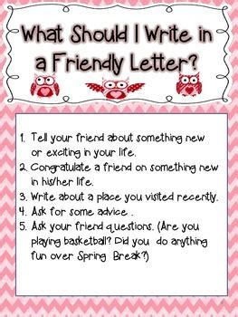 write  friendly letter valentines day theme