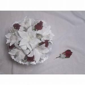 Bouquet De La Mariée : bouquet de mari e rond boutonni re avec des lys roses ~ Melissatoandfro.com Idées de Décoration