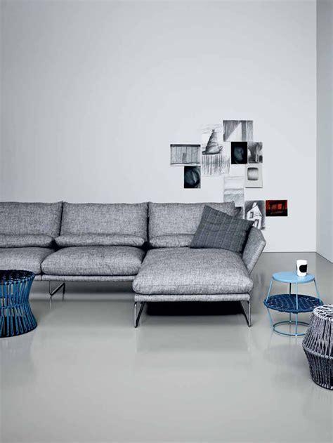 chaise york york sofa with chaise longue by saba italia