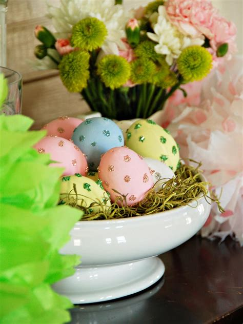 easter decorations ideas easter egg decorating ideas hgtv
