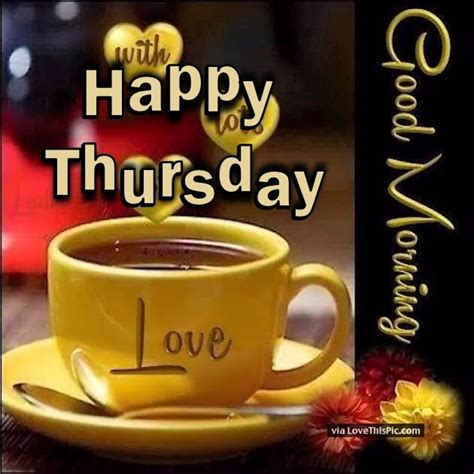 happy thursday good morning love pictures