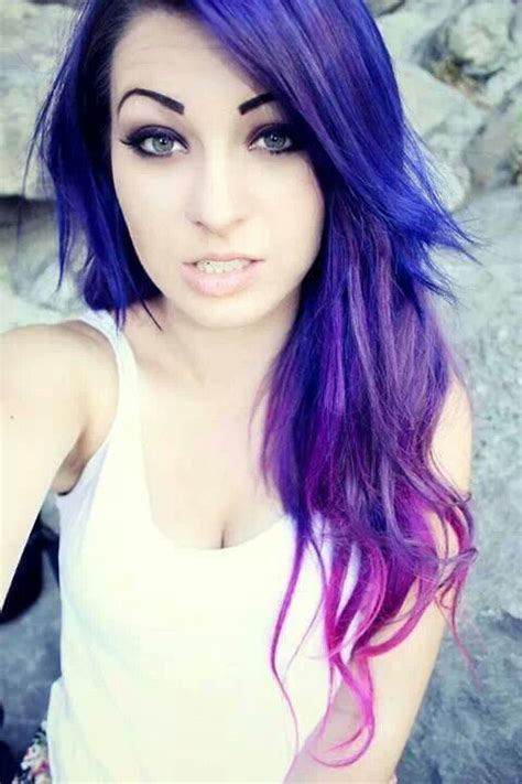 17 Best Images About Purple Hairfuture Hair On Pinterest