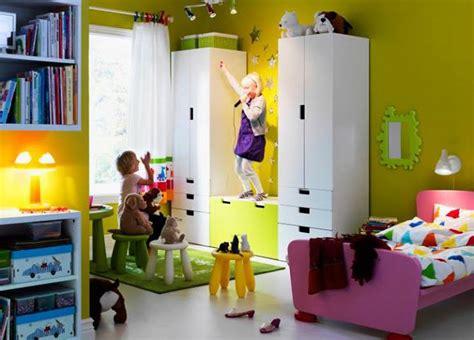 chambre armoire meuble rangement enfant ikea stuva