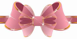 Beautiful Pink Ribbon PNG Clipart Image | Gallery ...