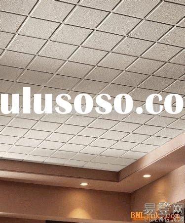 vinyl faced gypsum boards suspending ceiling boards