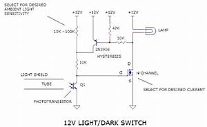 12v Light Dark Switch