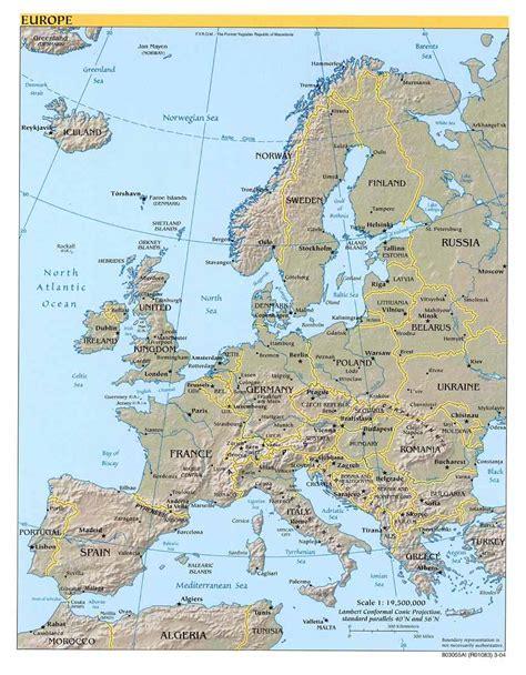 maps map of europes mountain range