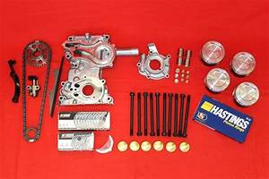 22re Toyota Premium Master Engine Rebuild Kit Fits 1985