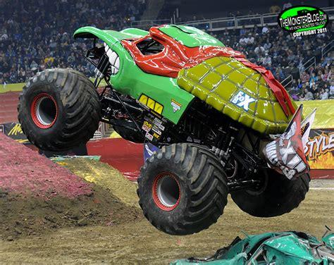 monster truck names from monster jam teenage mutant ninja turtle international monster truck