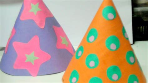 fun kids party hats diy home guidecentral youtube